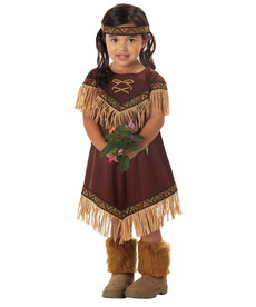 California Costumes Toddler Lil' Indian Princess Costume