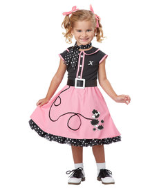 California Costumes Toddler 50's Poodle Cutie Costume