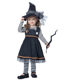 California Costumes Toddler Crafty Little Witch Costume