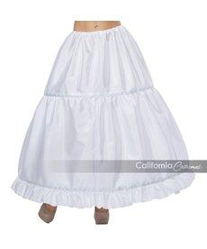 California Costumes Hoop Skirt: White
