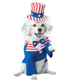 California Costumes Uncle Sam: Pet Costume