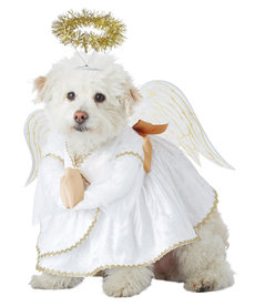 California Costumes Heavenly Hound Dog: Pet Costume