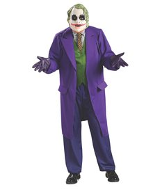 Rubies Costumes Men's Deluxe The Joker Costume (Dark Knight Trilogy)