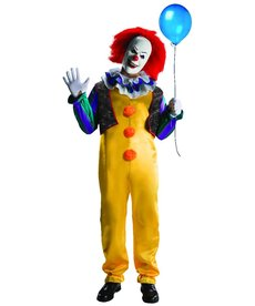 Rubies Costumes Men's Deluxe Pennywise Costume (IT 1990)