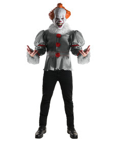 Rubies Costumes Men's Deluxe Pennywise Costume (IT)
