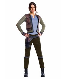Rubies Costumes Women's Deluxe Jyn Erso Costume