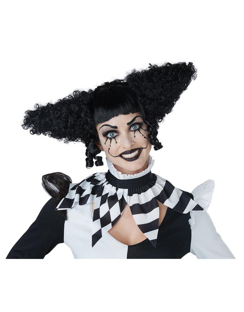 California Costumes California Costumes Womens Creepy Clown Wig