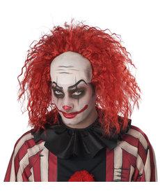 California Costumes Men's Clown Pattern Baldness Wig