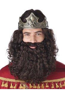 California Costumes Biblical King Mens Wig and Beard