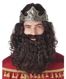 California Costumes Men's Biblical King Wig & Beard