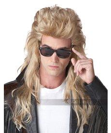 California Costumes 80's Rock Mullet Wig