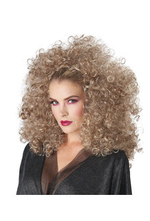 California Costumes 3/4 Length Curly Fall Women's Wig