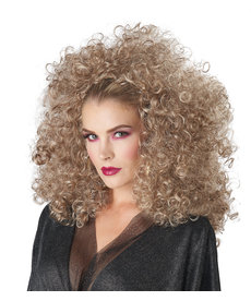 California Costumes Women's 3/4 Curly Fall Wig