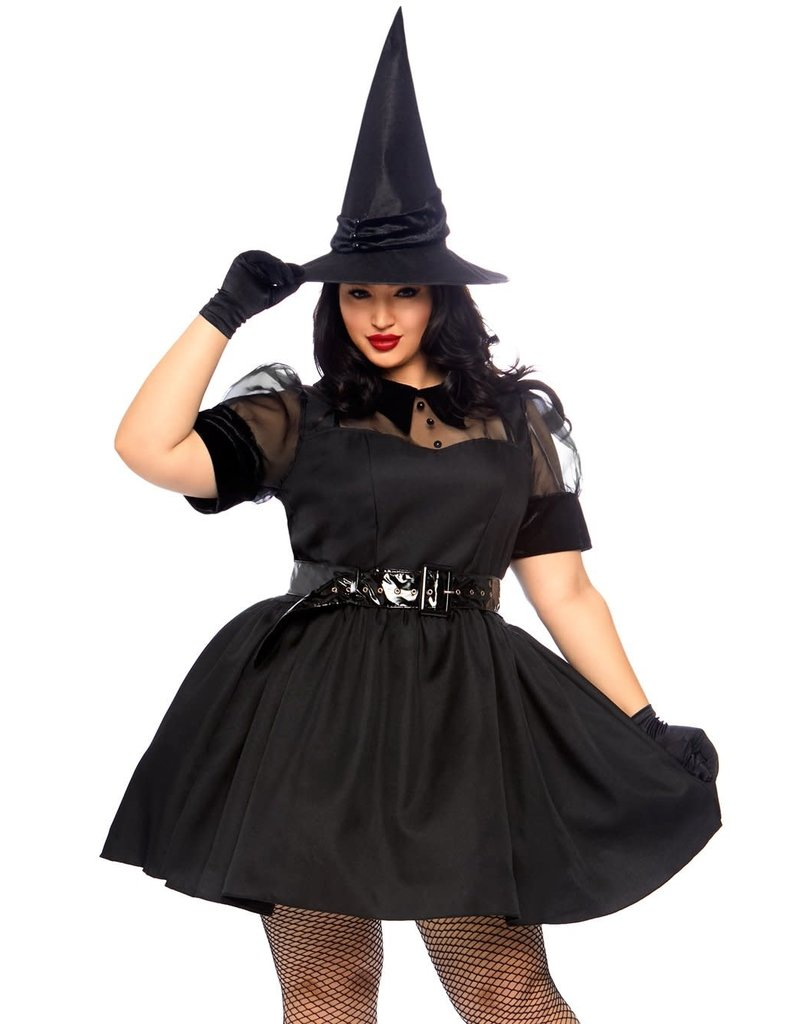 Leg Avenue Women's Plus Size Bewitching Witch Costume