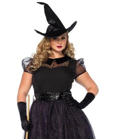 Leg Avenue Women's Plus Size Darling Spellcaster Costume