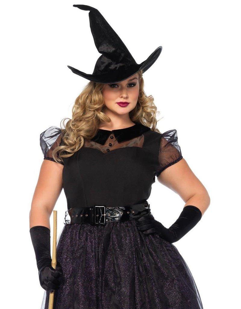 Leg Avenue Women's Plus Size Darling Spellcaster Costume