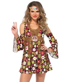 Leg Avenue Women's Starflower Hippie Costume
