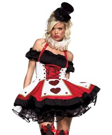 Leg Avenue Women's Pretty Playing Card Costume