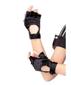 Leg Avenue Fingerless Motorcycle Gloves