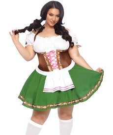 Leg Avenue Women's Plus Size Gretchen Costume