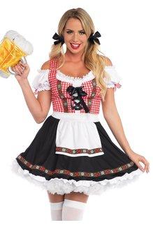 Leg Avenue Women's Beer Garden Babe Costume