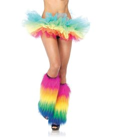 Leg Avenue Organza Tutu: Rainbow