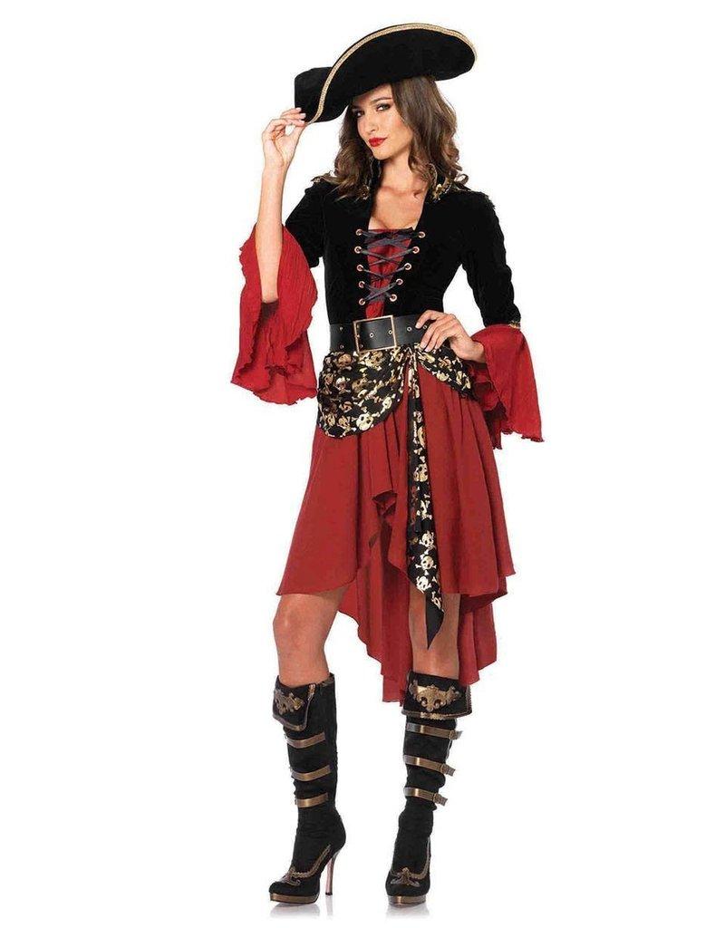 Leg Avenue Women's Cruel Seas Captain Costume