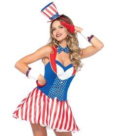 Leg Avenue Women's Yankee Doodle Darlin' Costume