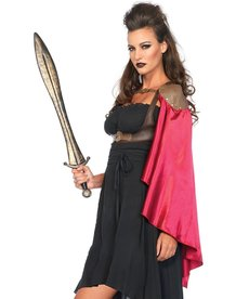 Leg Avenue Warrior Cape: Adult Costume