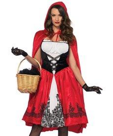 Leg Avenue Women's Classic Red Riding Hood Costume