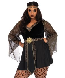 Leg Avenue Women's Plus Size Glamazon Warrior Costume