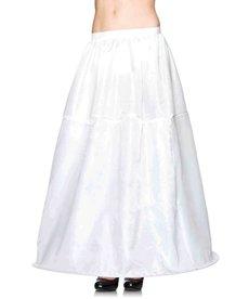 Leg Avenue Long Hoop Skirt: Adult Size