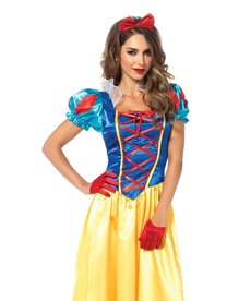 Leg Avenue Women's Classic Snow White Costume