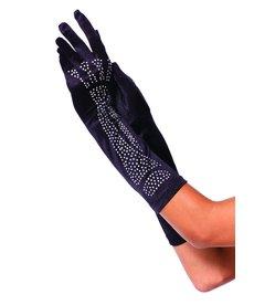 Leg Avenue Rhinestone Bone Elbow Length Gloves