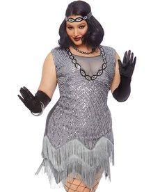 Leg Avenue Plus Size Roaring Roxy Costume