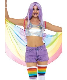 Leg Avenue Festival Pride Wings: Rainbow