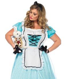 Leg Avenue Women's Plus Size Tea Time Alice Costume
