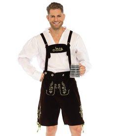 Leg Avenue Oktoberfest Lederhosen: Adult Costume