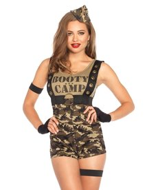Leg Avenue Women's Booty Camp Cutie Costume