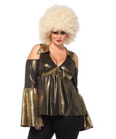 Leg Avenue Women's Plus Size Disco Diva Costume