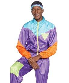 Leg Avenue Men's Retro 80's Ski Suit Costume