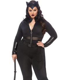 Leg Avenue Women's Plus Size Sultry Supervillain Costume