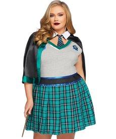 Leg Avenue Women's Plus Size Sinister Spellcaster Costume