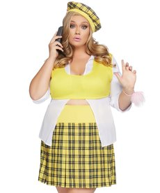 Leg Avenue Women's Plus Size Clueless Cutie Costume