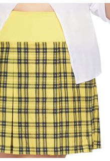 Leg Avenue Women's Plus Size Clueless Cutie Costume