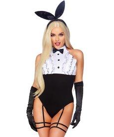Leg Avenue Women's Tuxedo Bunny Costume
