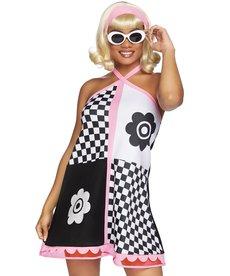 Leg Avenue Women's Swinging 60s Sweetie Costume
