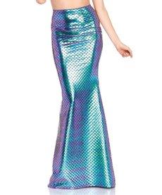 Leg Avenue Iridescent Scale Mermaid Skirt: Adult Size