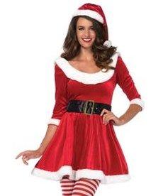 Leg Avenue Sweetheart Santa: Adult Costume