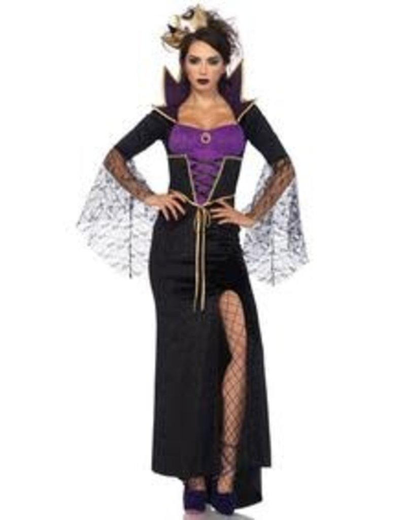 Leg Avenue Women's Classic Witched Queen Costume